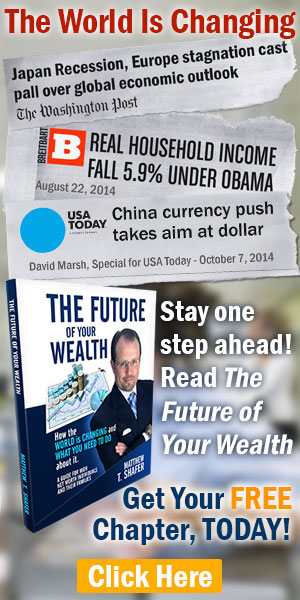 "Get your free chapter of ""The Future of Your Wealth"" by Matthew T. Shafer"