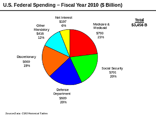 US Federal Spending - Fiscal Year 2010